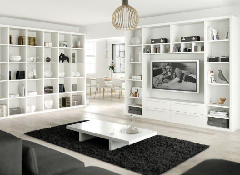 duvardan duvara raflar ile evinize çağdaş bir görünüm kazandırın (1)