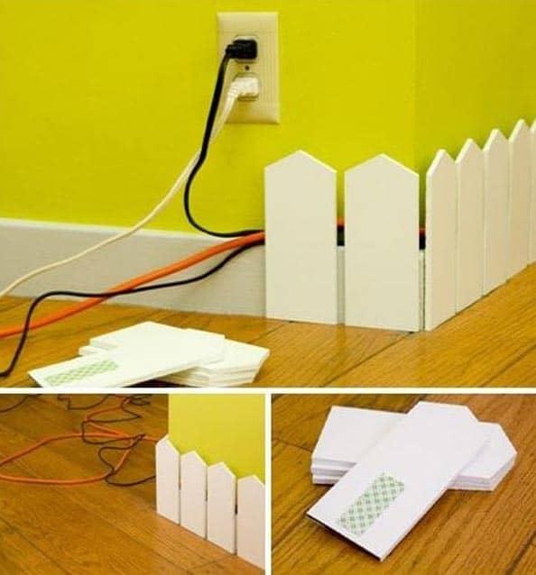 Can Sıkıcı Elektrik Kablolarını Ortadan Kaldıracak 14 Kendin Yap Fikri (1)