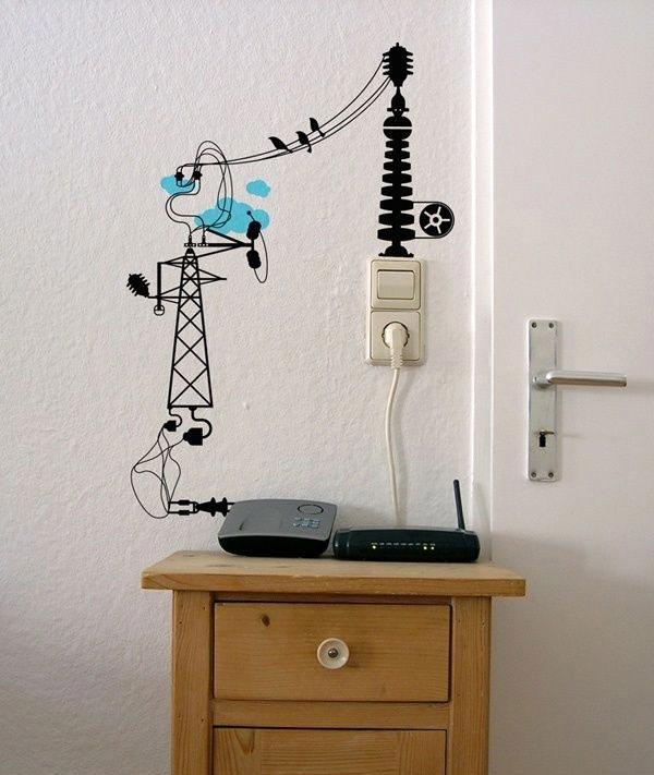 Can Sıkıcı Elektrik Kablolarını Ortadan Kaldıracak 14 Kendin Yap Fikri (12)