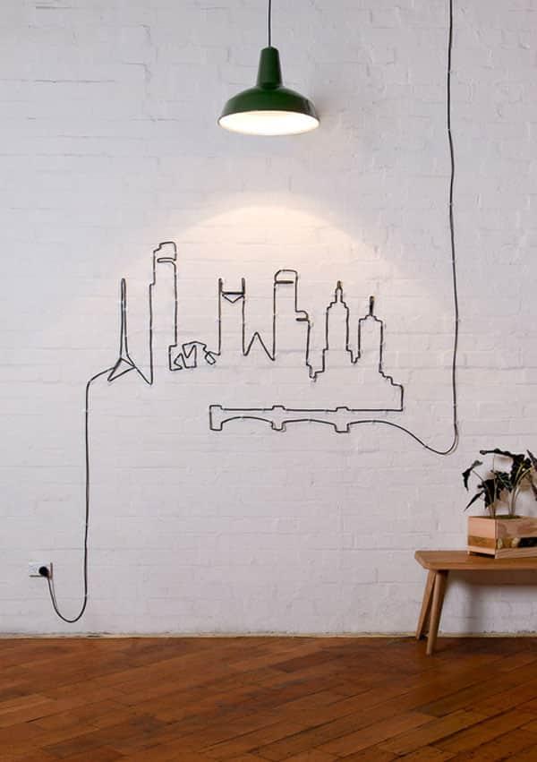 Can Sıkıcı Elektrik Kablolarını Ortadan Kaldıracak 14 Kendin Yap Fikri (2)