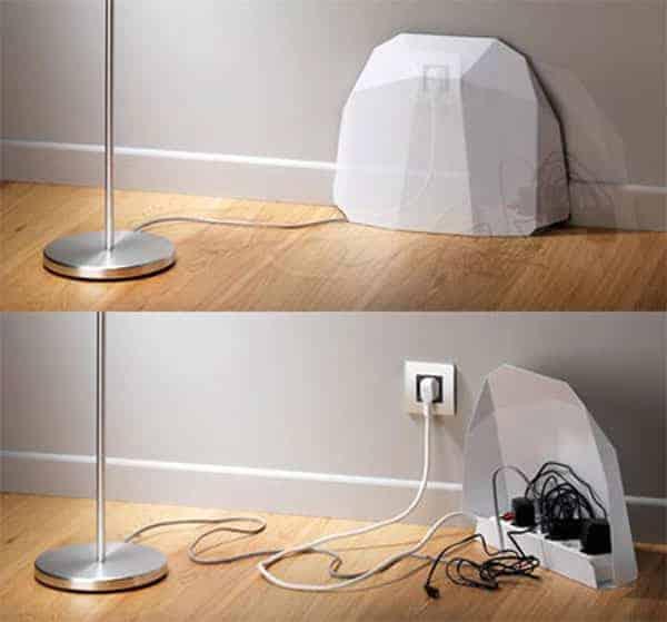 Can Sıkıcı Elektrik Kablolarını Ortadan Kaldıracak 14 Kendin Yap Fikri (6)