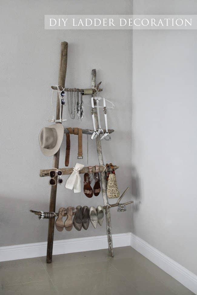Değersiz Ağaç Parçalarını Sanata Dönüştürecek Kendin Yap Fikirleri (9)