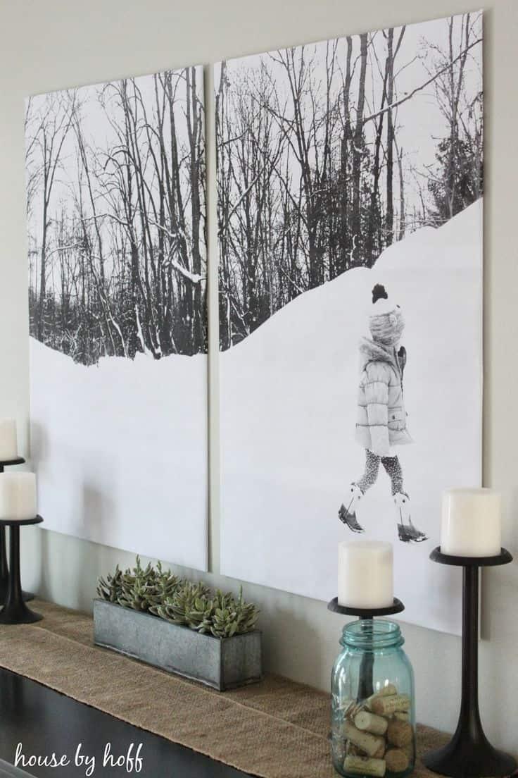 Haftasonu İçin 25 Özgün Duvar Dekorasyonu Fikirleri (18)