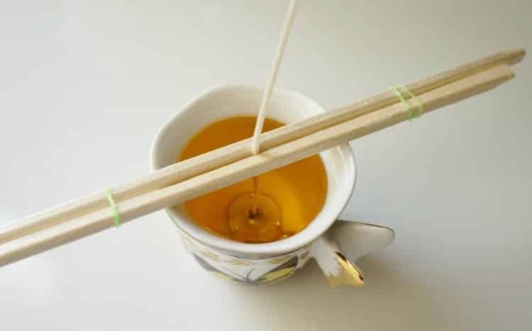 Çay Fincanı İle Kokulu Mum Nasıl Yapılır (7)