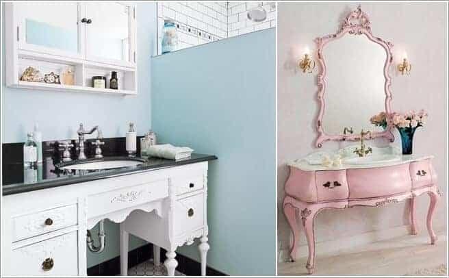 Sahip Olduğunuz Eşki Şeylerin Geri Dönüşümü İle Banyo Tasarımı Fikirleri (3)