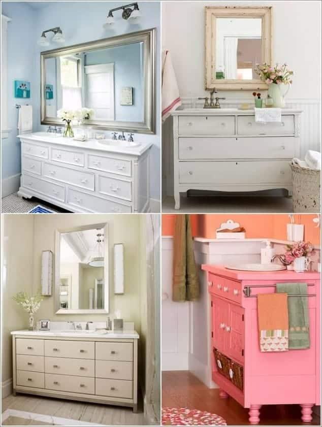 Sahip Olduğunuz Eşki Şeylerin Geri Dönüşümü İle Banyo Tasarımı Fikirleri (4)