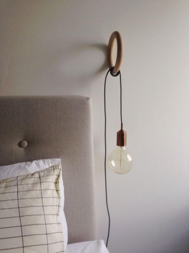 Luminaria Parede Quarto Foto Arandela Interna Quadrada Luz Indireta  -> Abajur De Parede Para Sala