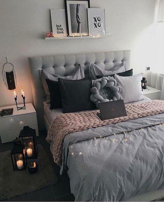 Evli ciftler icin yatak odası dekorasyonu (3)