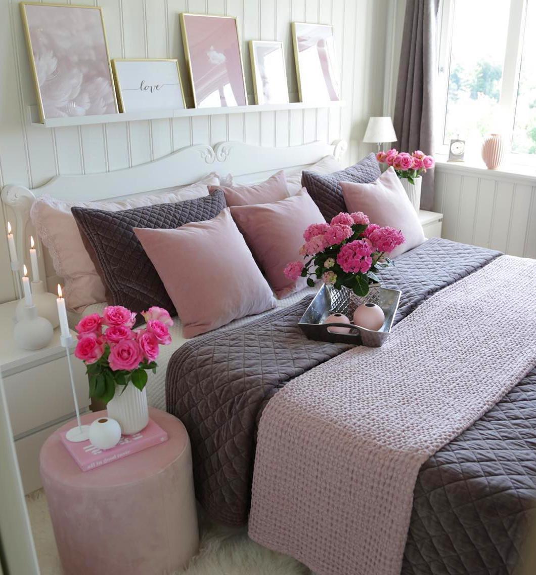 Evli ciftler icin yatak odası dekorasyonu (38)