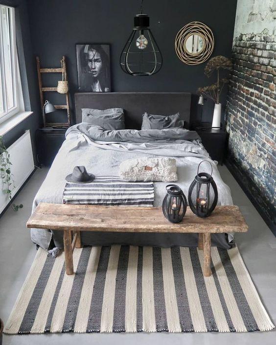 Evli ciftler icin yatak odası dekorasyonu (48)