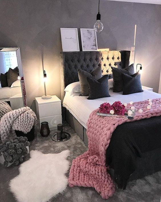 Evli ciftler icin yatak odası dekorasyonu (50)