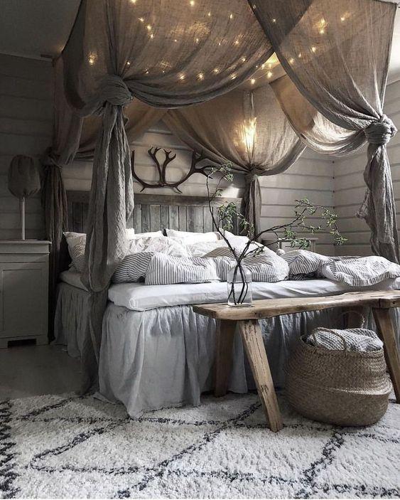 Evli ciftler icin yatak odası dekorasyonu (51)