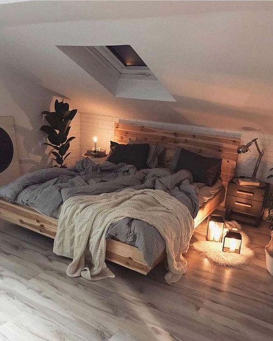 Evli ciftler icin yatak odası dekorasyonu (54)