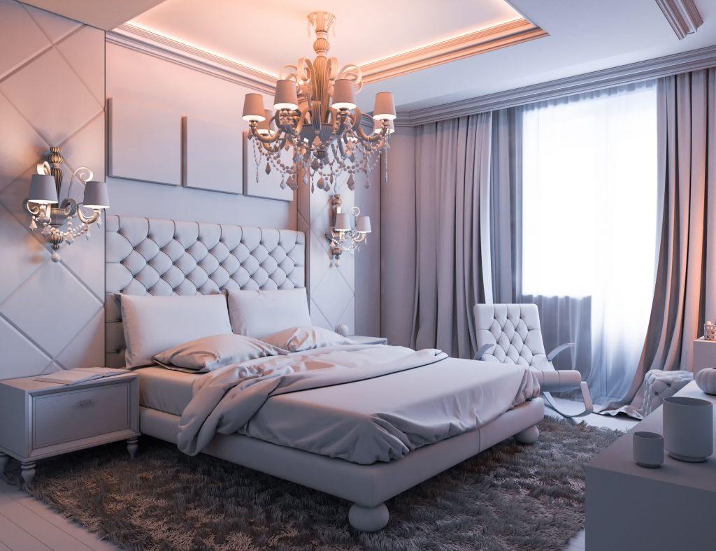 Evli ciftler icin yatak odası dekorasyonu (56)
