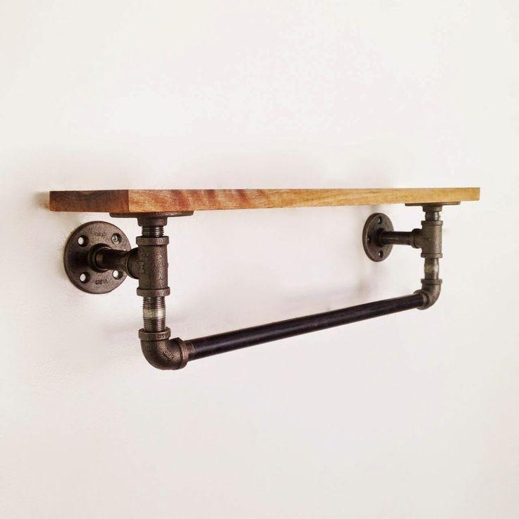 endüstriyel boru raf ayaklı duvar rafı örnekleri (21)