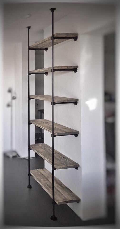 endüstriyel boru raf ayaklı duvar rafı örnekleri (29)