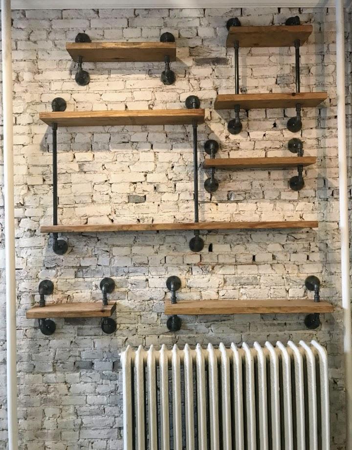 endüstriyel boru raf ayaklı duvar rafı örnekleri (34)