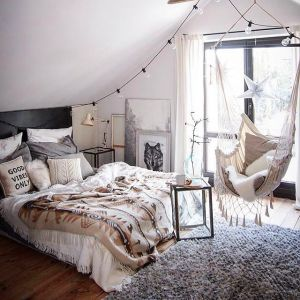 Evli ciftler icin yatak odası dekorasyonu (37)