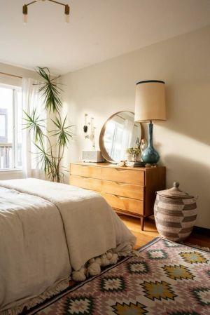 Yatak Odaları Icin Yuvarlak Ayna Dekorasyonu Fikirleri (11)