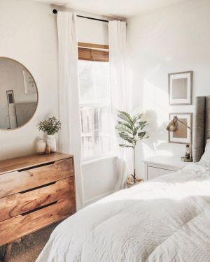 Yatak Odaları Icin Yuvarlak Ayna Dekorasyonu Fikirleri (15)