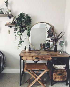 Yatak Odaları Icin Yuvarlak Ayna Dekorasyonu Fikirleri (19)