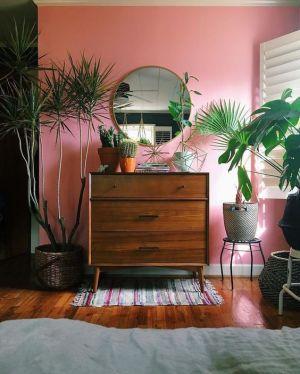 Yatak Odaları Icin Yuvarlak Ayna Dekorasyonu Fikirleri (2)