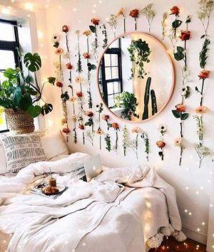 Yatak Odaları Icin Yuvarlak Ayna Dekorasyonu Fikirleri (3)