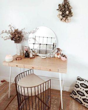 Yatak Odaları Icin Yuvarlak Ayna Dekorasyonu Fikirleri (5)