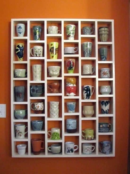 kahve ve çay fincalarının saklamanın 12 akıllı yolu (3)