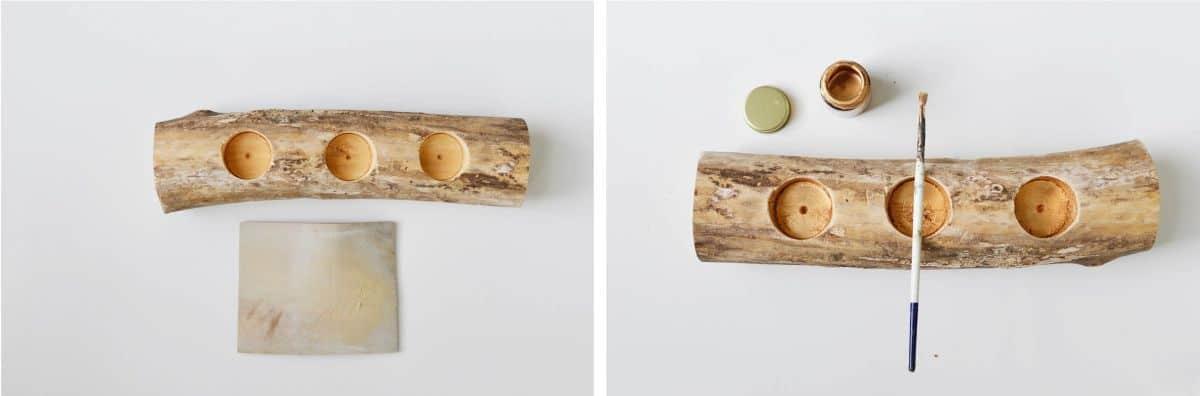 Modern Tasarım Ağaç Dalı Mumluk Nasıl Yapılır (4)
