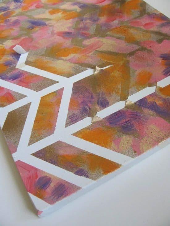 Sprey Boya İle 10 Modern Sanat Dekorasyonu (3)