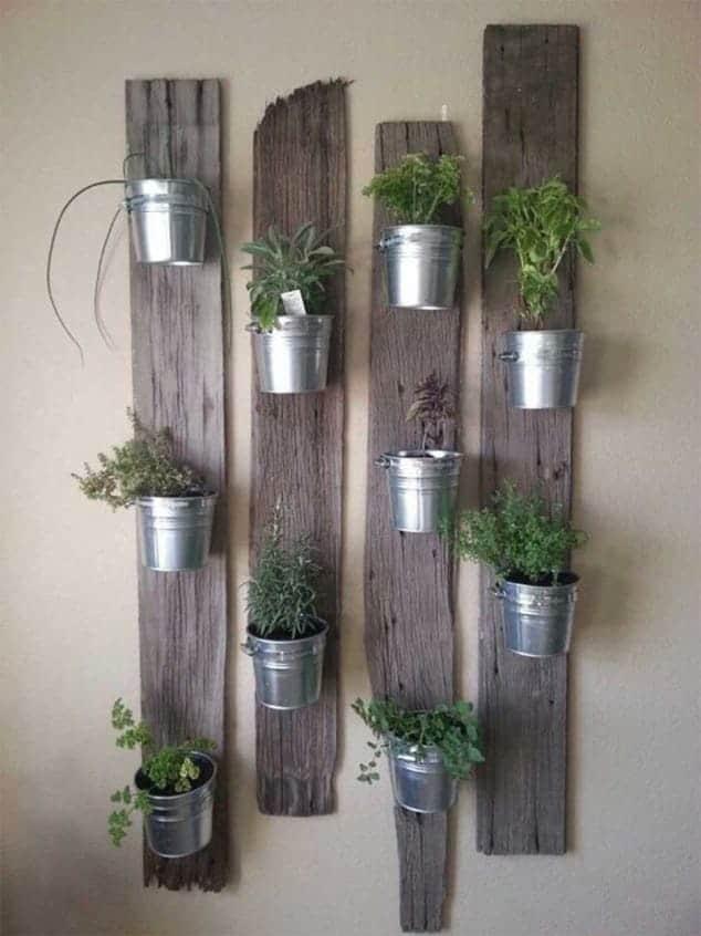 İç Mekanlar İçin 25 Farklı Bitki Sergileme Fikirleri (11)