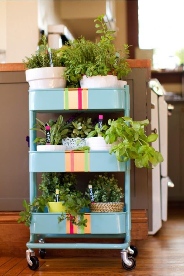 İç Mekanlar İçin 25 Farklı Bitki Sergileme Fikirleri (18)