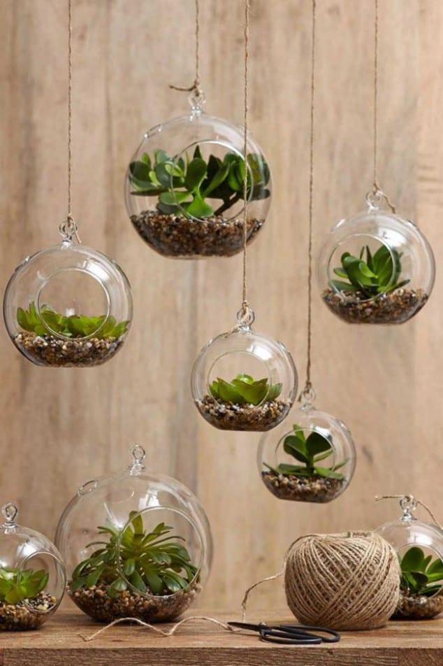 İç Mekanlar İçin 25 Farklı Bitki Sergileme Fikirleri (3)
