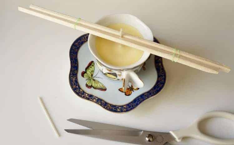 Çay Fincanı İle Kokulu Mum Nasıl Yapılır (8)
