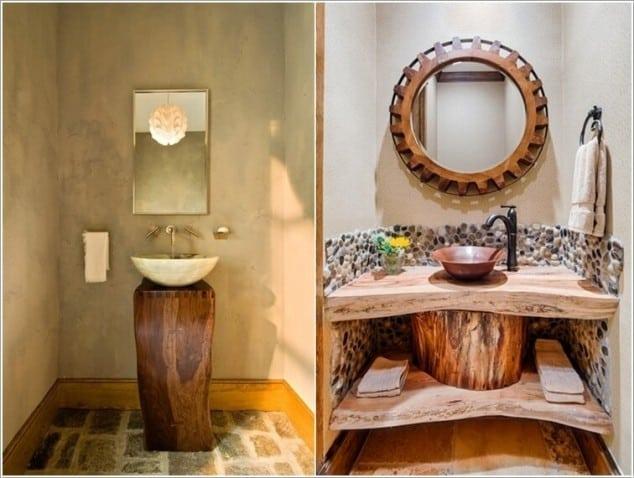 Sahip Olduğunuz Eşki Şeylerin Geri Dönüşümü İle Banyo Tasarımı Fikirleri (1)