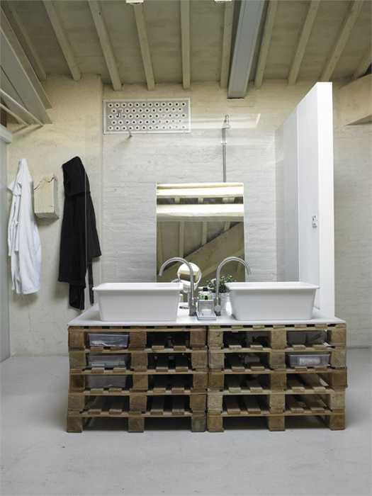 Sahip Olduğunuz Eşki Şeylerin Geri Dönüşümü İle Banyo Tasarımı Fikirleri (12)