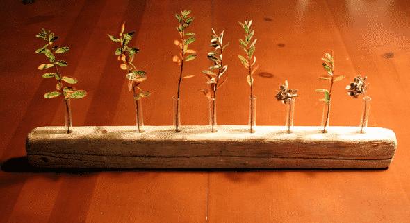 Ağaç Parçaları İle 30 Dekorasyon Fikri (1)