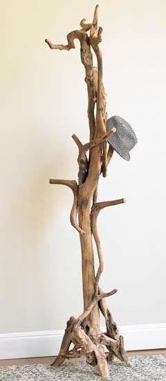 Ağaç Parçaları İle 30 Dekorasyon Fikri (28)