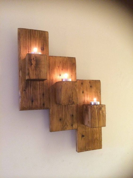 Ah ap palet par alar le 40 duvar dekorasyonu fikirleri for Deco en palet de madera