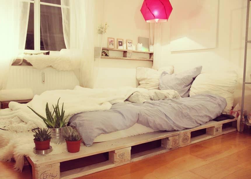 Yatak Odaniza 40 Ahsap Palet Yatak Fikirleri Estetikev