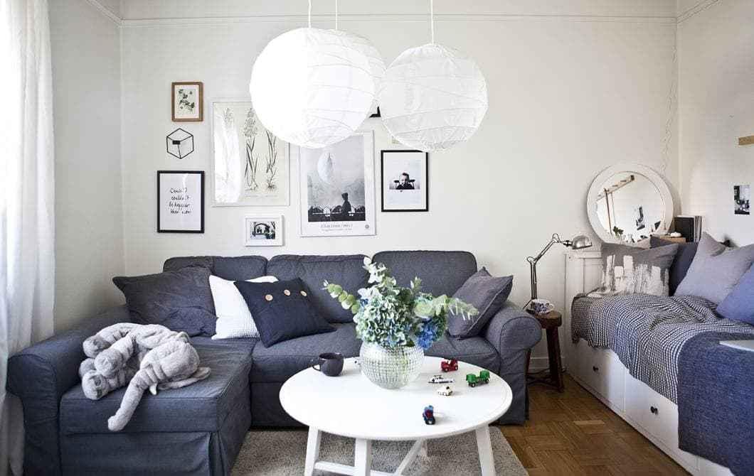 Kea tasar mlar yla dekorasyon fikirleri birbirinden farkl 10 oturma odas dekorasyonu - Ikea design ideas small spaces model ...