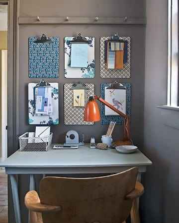 çalışma masası dekorasyonu