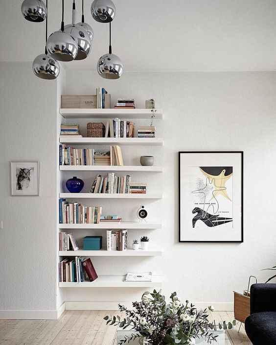 İkea lack duvar rafı dekorasyon ve kombinasyon fikirleri
