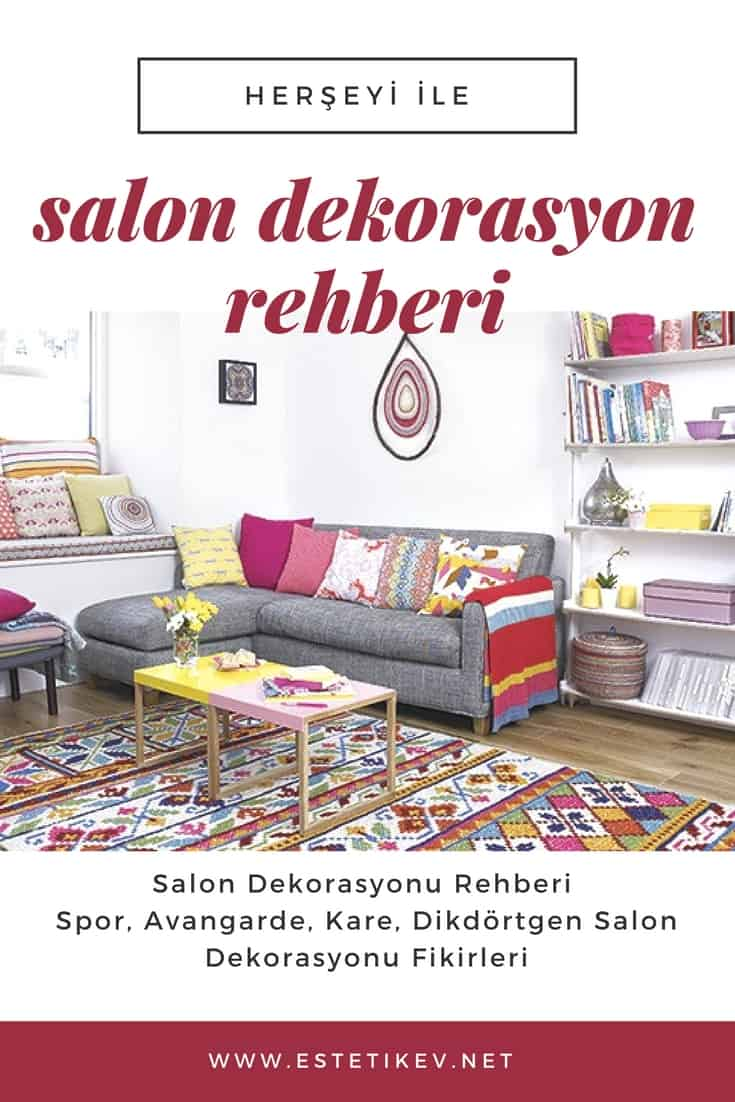 salon dekorasyonu