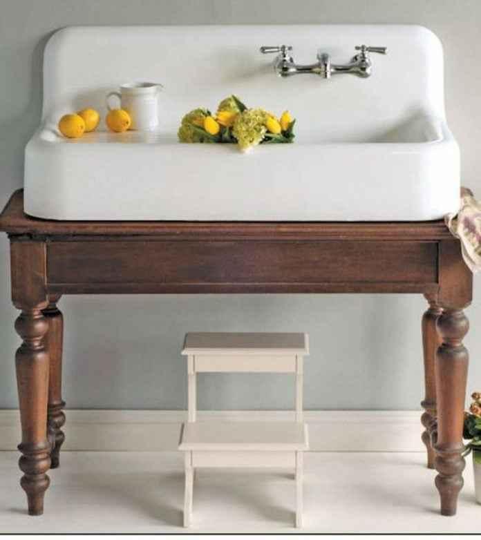 country tarz banyo dekorasyonu fikirleri