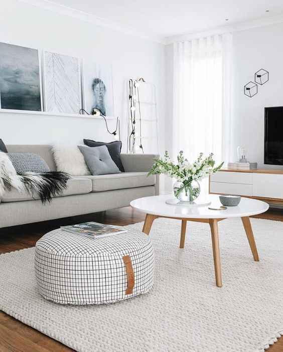 olmazsa olmazları ile oturma odası dekorasyonu