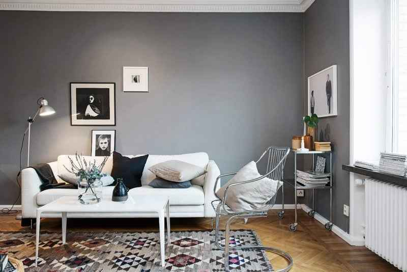 rahat oturma odası için dekorasyona fikirleri