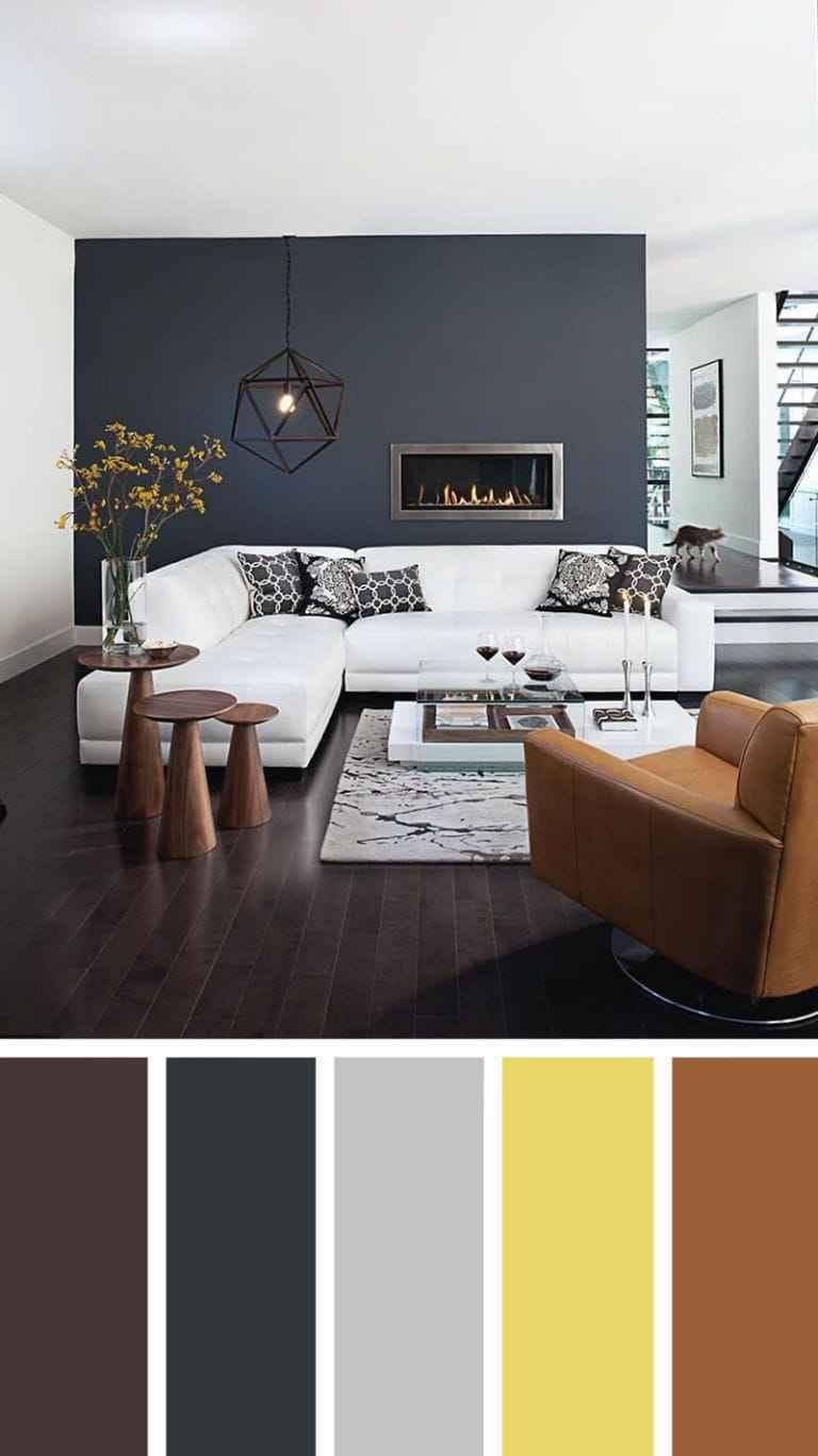 Oturma Odası Dekorasyonu Renk Paleti