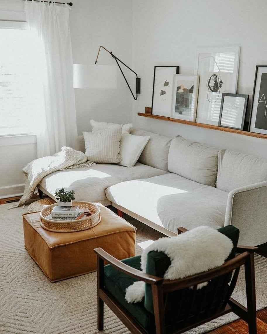 2019 Küçük Oturma Odası Dekorasyonu Örnekleri